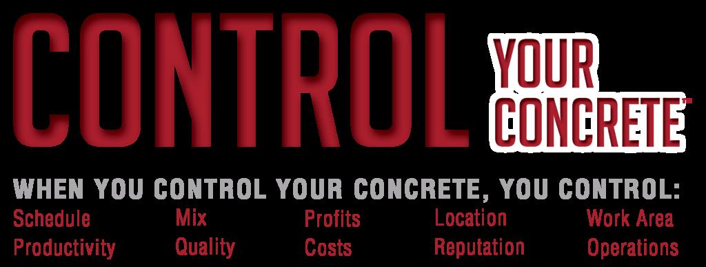 Control Your Concrete