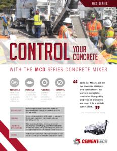 Cemen Tech MCD Series