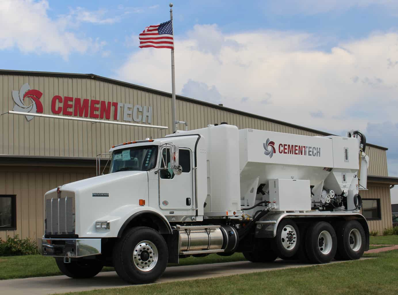 What is a mobile concrete mixer?