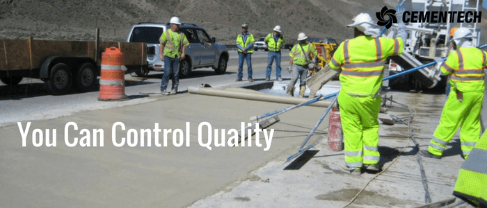 Control Your Quality of concrete mix when you use a volumetric concrete mixer