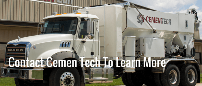 Contact Cemen Tech to learn more about volumetric mixers and how to control your concrete