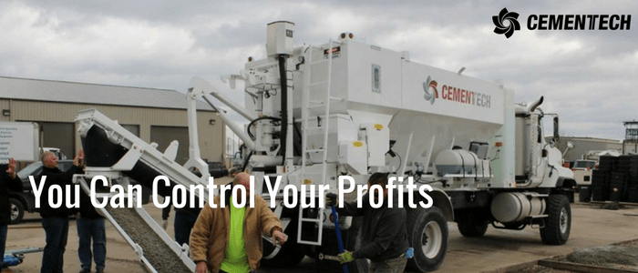 Control Your Profits when you use a volumetric concrete mixer