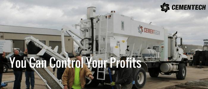 Control Your Profits when you use a volumetric concrete mixer