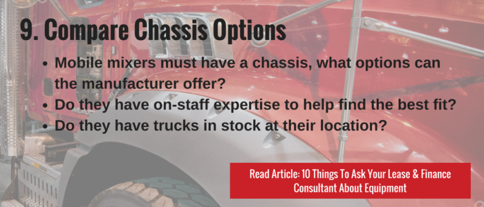Compare Chassis Options