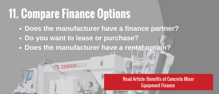 Compare Finance Options