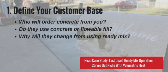 Define Your Customer Base