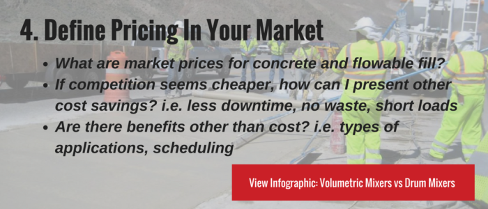 Define Pricing In Your Market