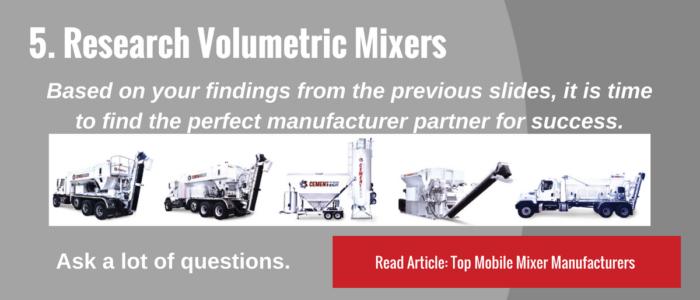 Research Volumetric Mixers