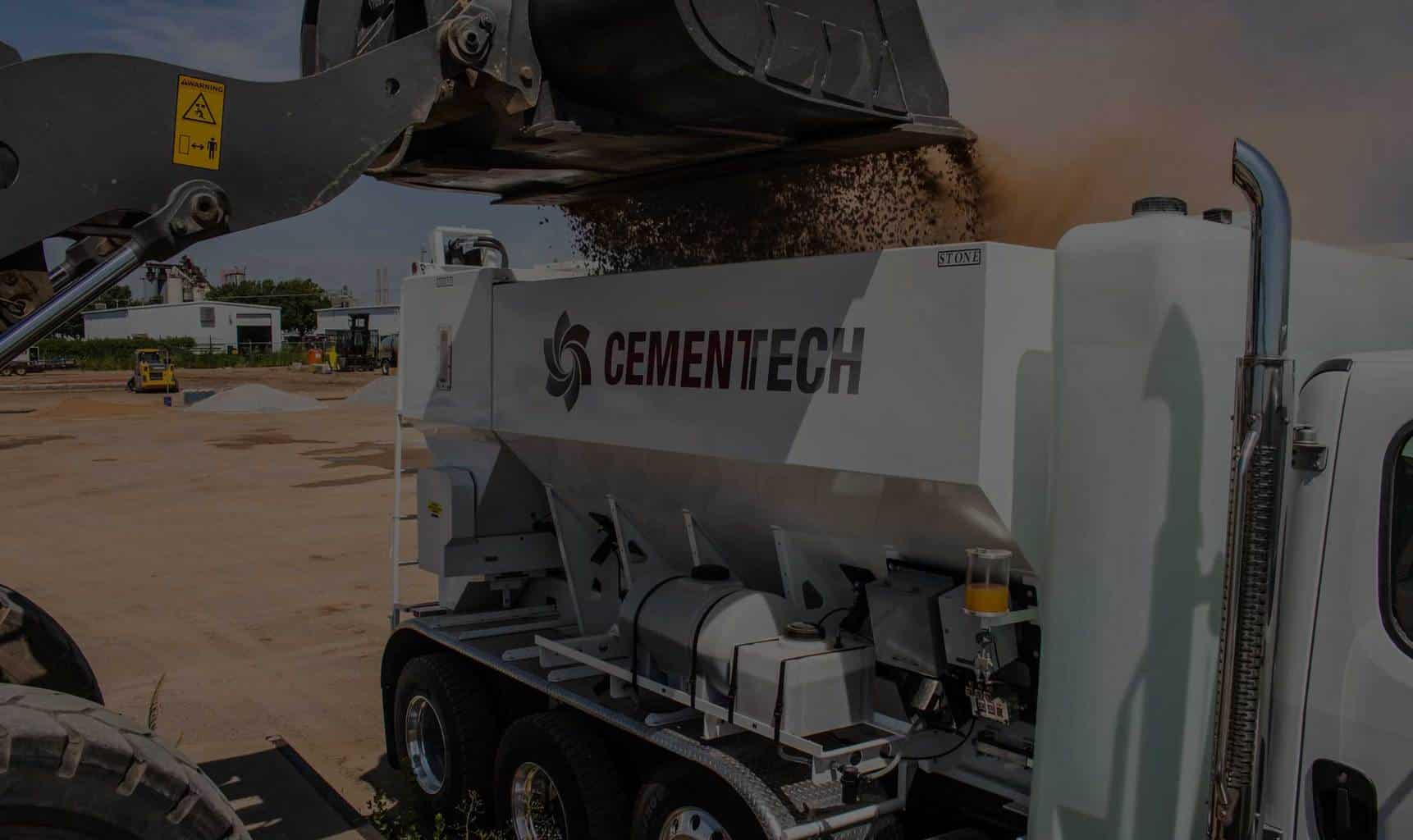 Concrete Plant Loader : Volumetric concrete mixers mobile and stationary cemen