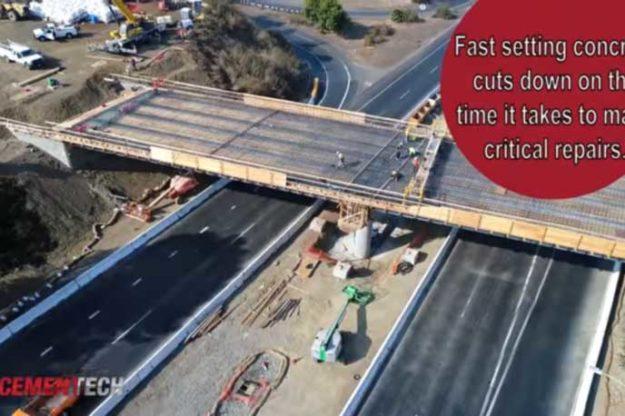 Fast Setting Concrete Bridge