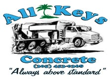 All Keys Concrete Logo