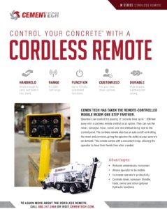 Cemen Tech M Series Wireless Remote