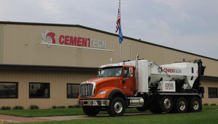 Cemen Tech International Truck Orange Chassis