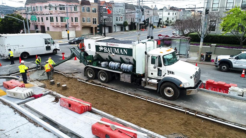 mobile concrete mixer San Francisco