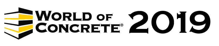 World of Concrete 2019 Logo